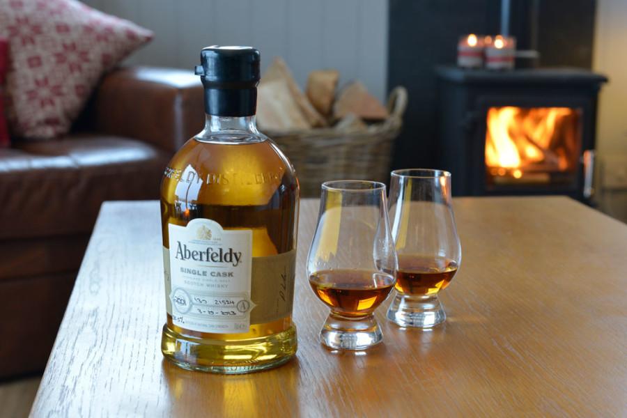 Drumcroy Lodges Aberfeldy whisky