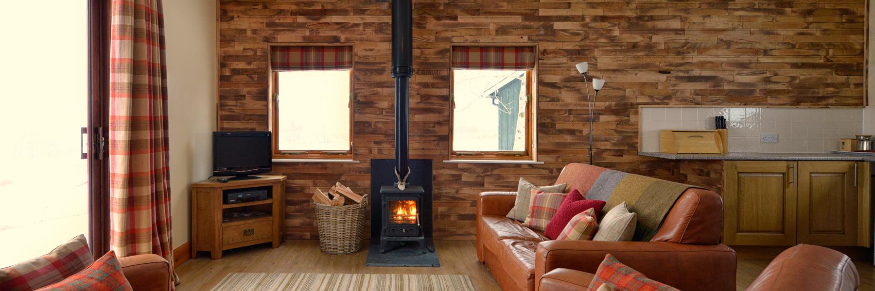 Drumcroy Lodges Aberfeldy interior