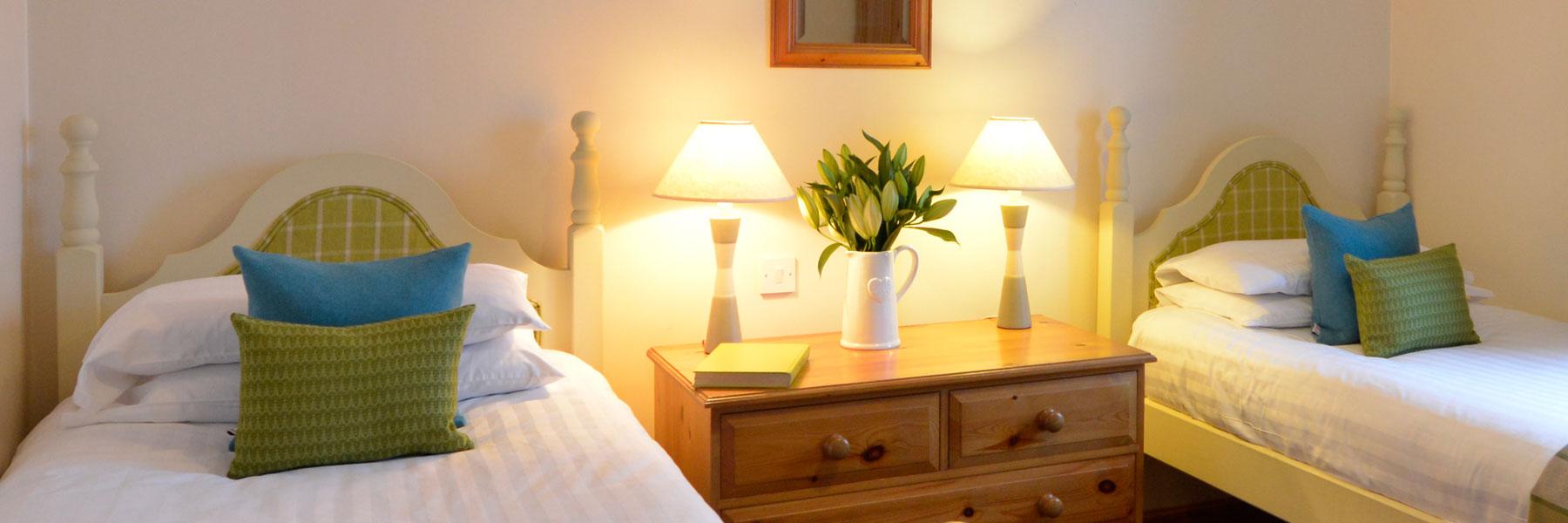 Drumcroy twin bedroom